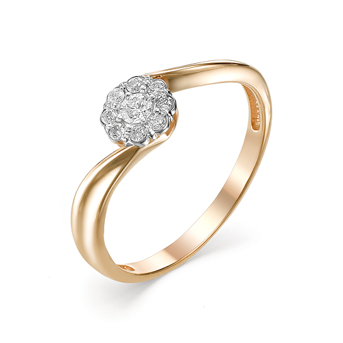 Золотое кольцо Бриллиант арт. 1-106-644 1-106-644