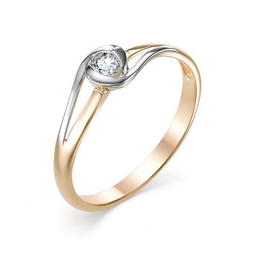 Кольцо из белого золота Бриллиант арт. 1-106-717 1-106-717
