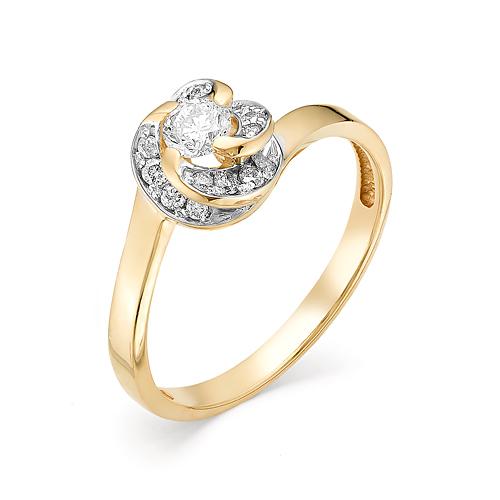 Золотое кольцо Бриллиант арт. 1-106-394 1-106-394