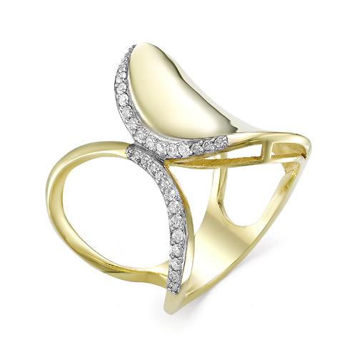 Кольцо из лимонного золота Бриллиант арт. 1-106-697 1-106-697