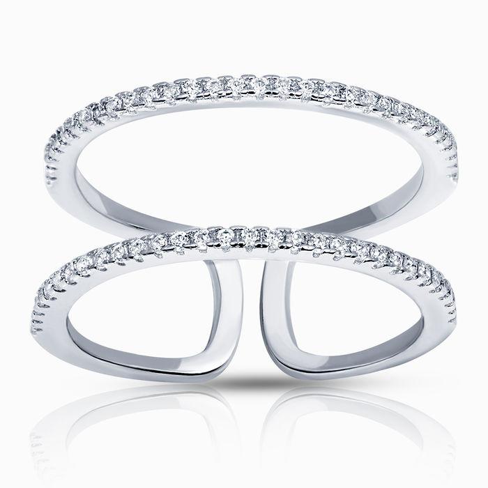 Серебряное кольцо Фианит арт. 27142 27142