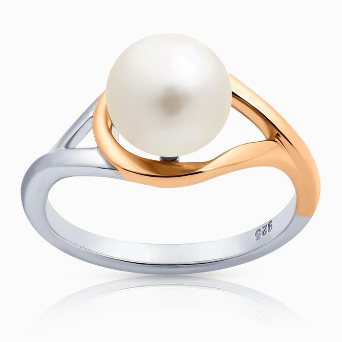 Серебряное кольцо Жемчуг арт. 37652 37652