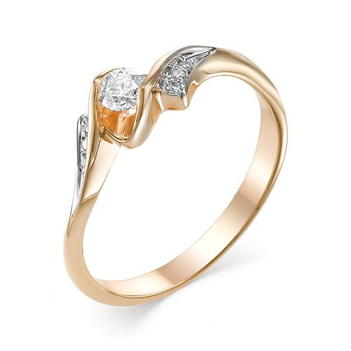 Кольцо из белого золота Бриллиант арт. 1-106-711 1-106-711