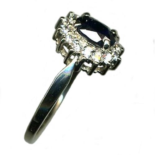Серебряное кольцо Гранат и Фианит арт. я42700225 я42700225