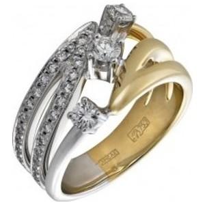 Кольцо из белого золота Бриллиант арт. 010389 010389