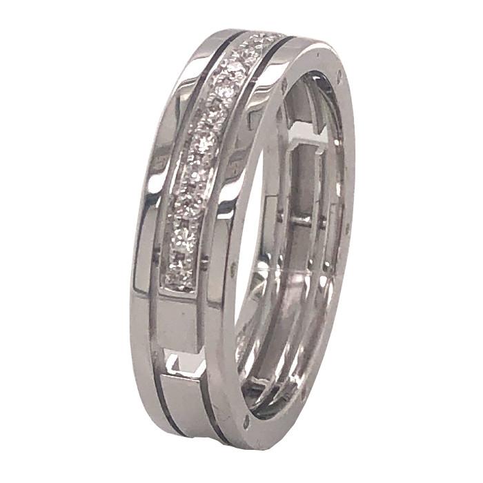 Обручальное кольцо из белого золота с бриллиантом арт. R0527101-01 R0527101-01