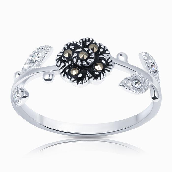 Серебряное кольцо Кристалл сваровски и Прочие арт. 40253 40253