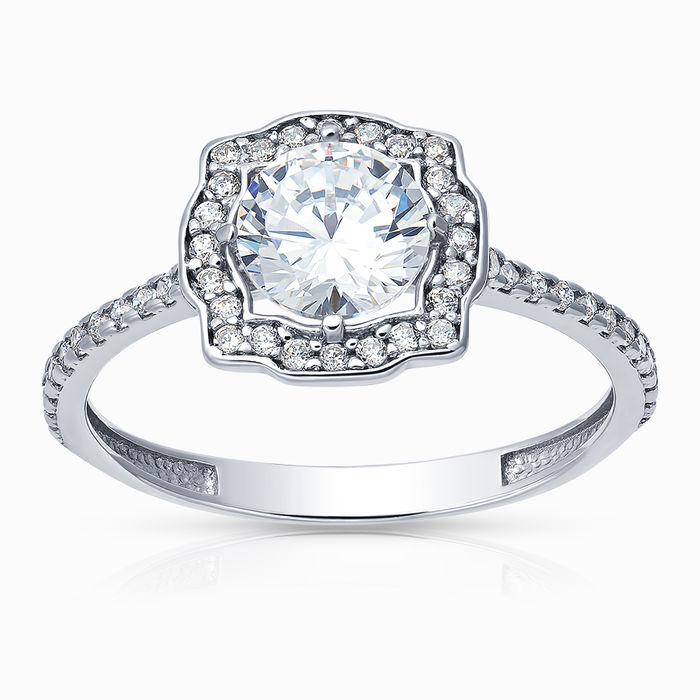 Серебряное кольцо Фианит арт. 43487 43487