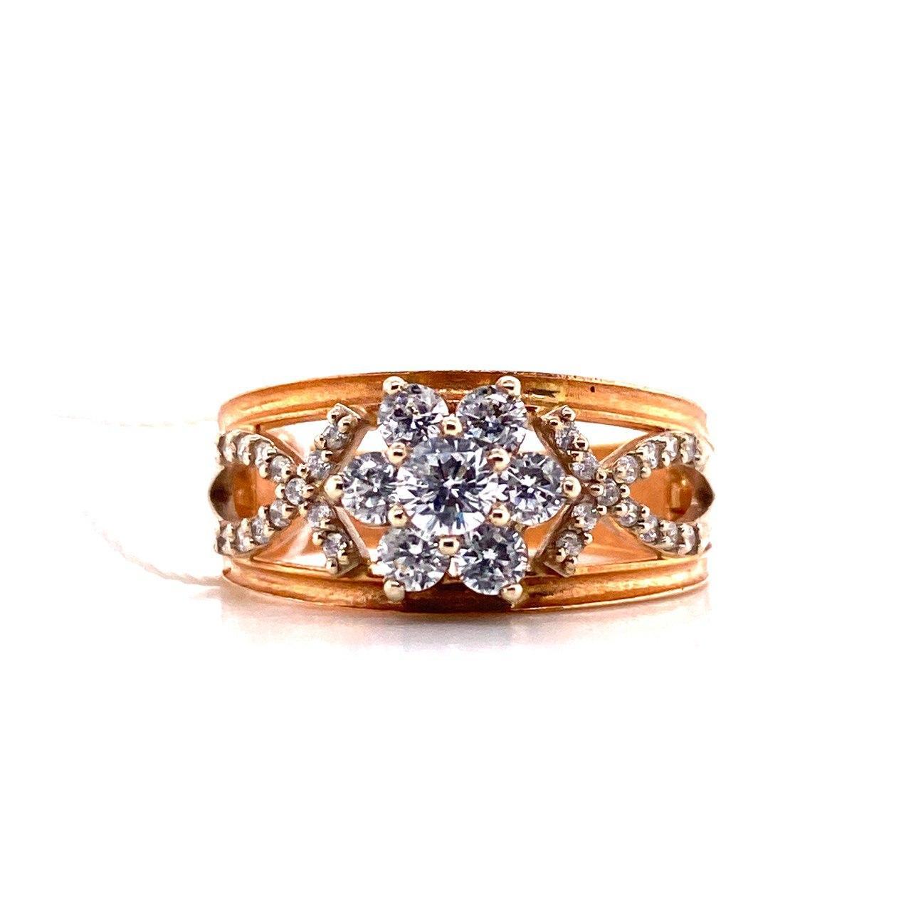 Золотое кольцо Фианит арт. 1122белый 1122белый