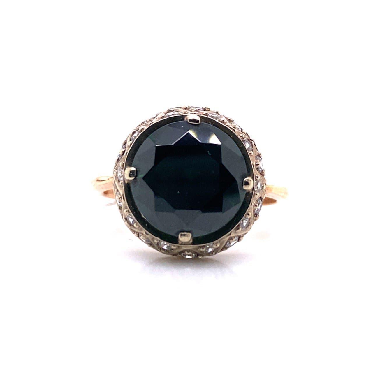 Золотое кольцо 1130зелен
