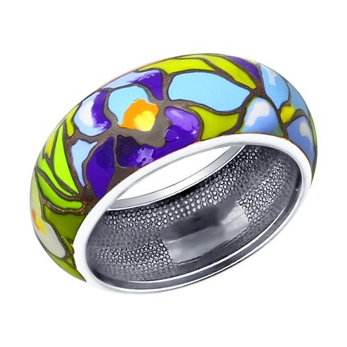Серебряное кольцо Эмаль арт. 94011936 94011936