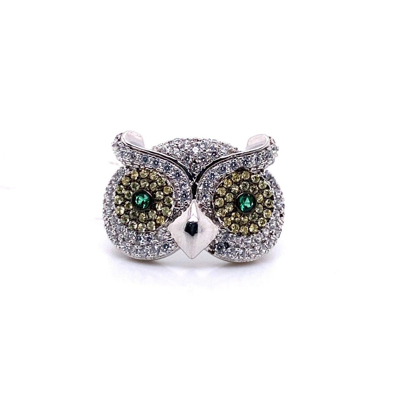 Серебряное кольцо SS-B0508SR