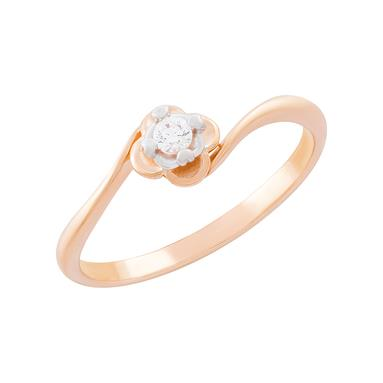 Золотое кольцо Фианит арт. 01-114502 01-114502