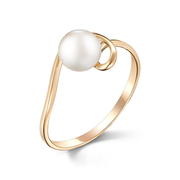 Золотое кольцо Жемчуг арт. 31514А1 31514А1