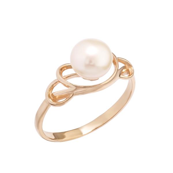 Золотое кольцо Жемчуг арт. 31516А1 31516А1
