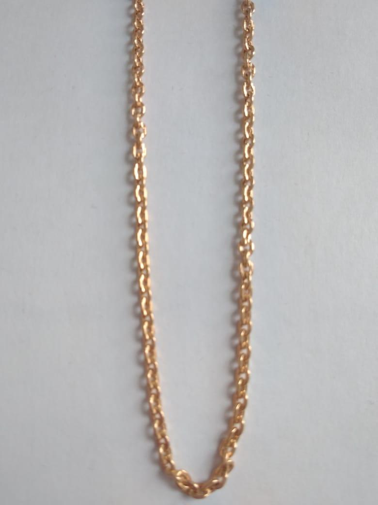 Облегченная цепь из золота арт. ц-60208-60 ц-60208-60