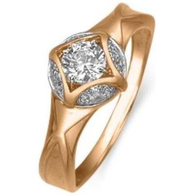 Золотое кольцо Кристалл сваровски арт. 01-4900-00-501111038 01-4900-00-501111038