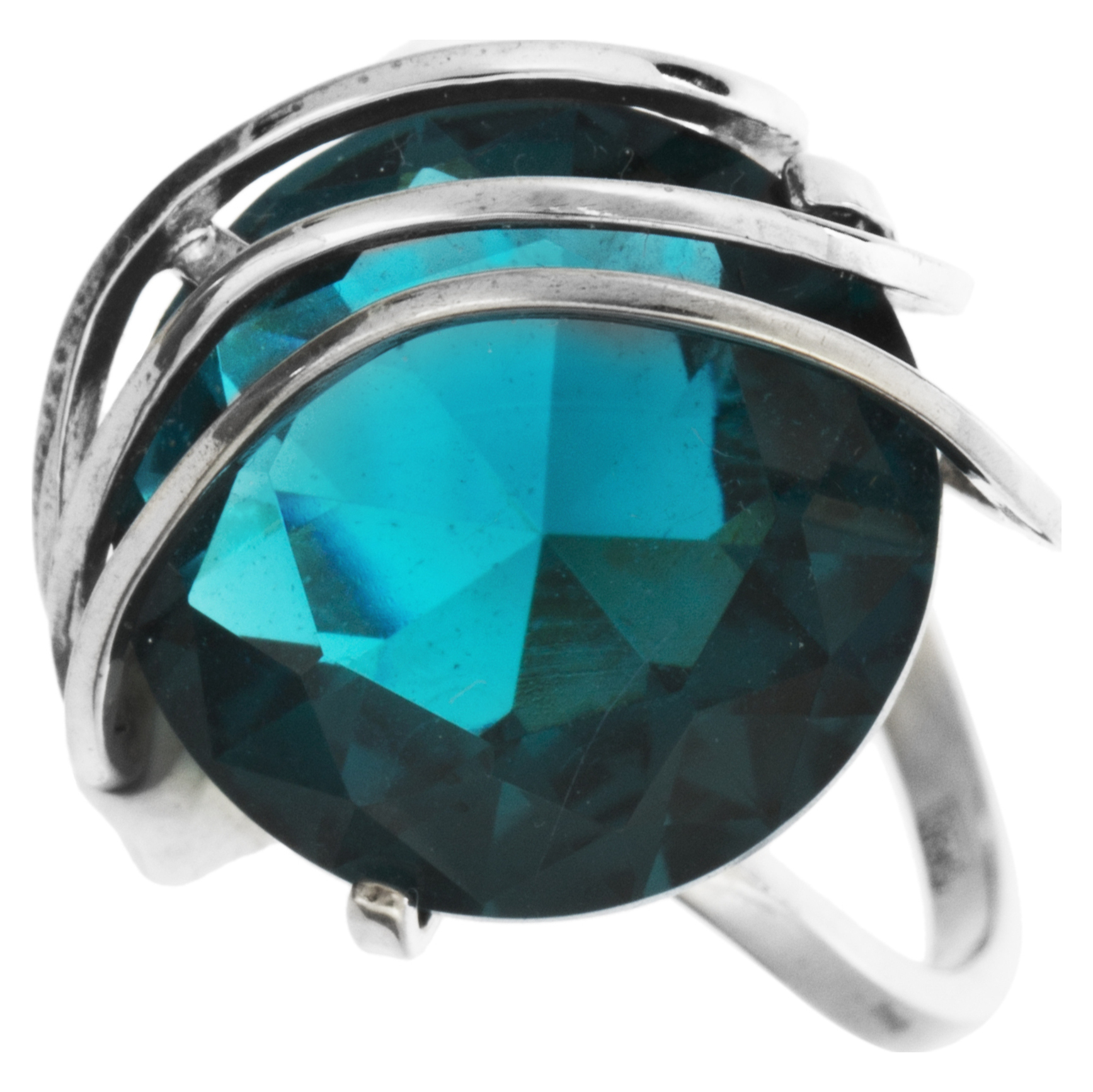 Серебряное кольцо Кварц арт. 4к-80136-04 4к-80136-04