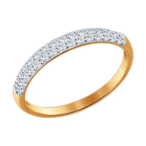 Золотое кольцо Фианит арт. 017149 017149