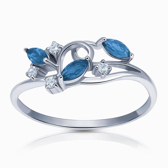 Серебряное кольцо Фианит арт. 41896 41896
