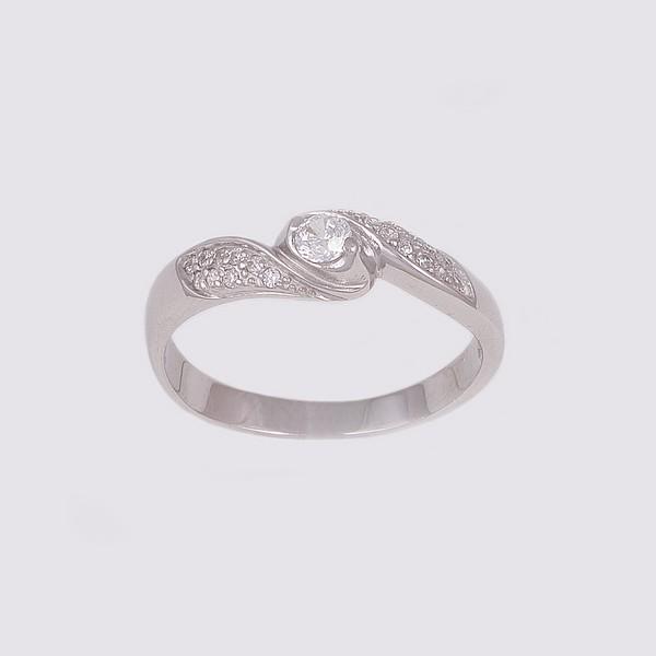 Серебряное кольцо Фианит арт. 14831-р 14831-р