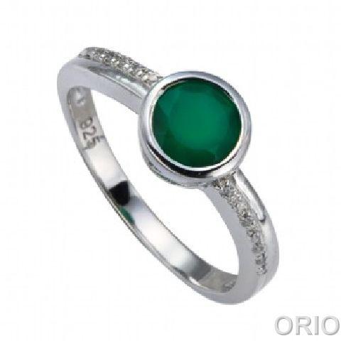 Серебряное кольцо Прочие и Фианит арт. 41100125 41100125