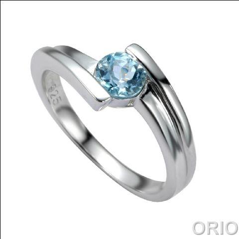 Серебряное кольцо Топаз арт. 41100135 41100135
