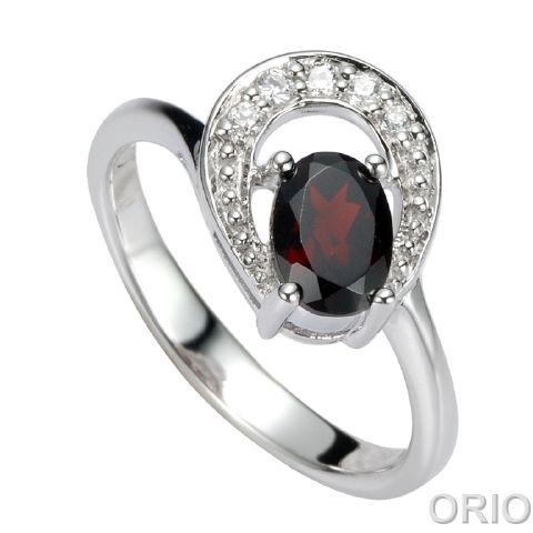 Серебряное кольцо Прочие и Фианит арт. 41100141 41100141