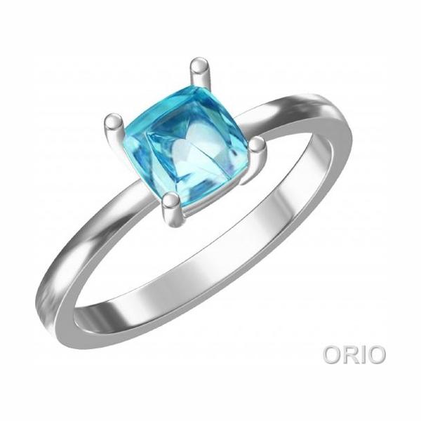Серебряное кольцо Топаз арт. 41110016 41110016