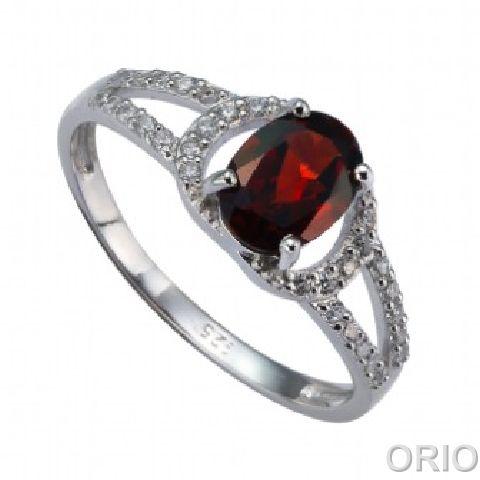 Серебряное кольцо Прочие и Фианит арт. 41100122 41100122