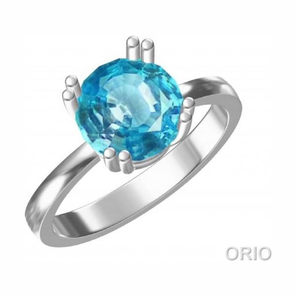 Серебряное кольцо Топаз арт. 41110003 41110003