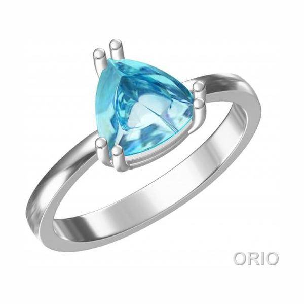 Серебряное кольцо Топаз арт. 41110014 41110014