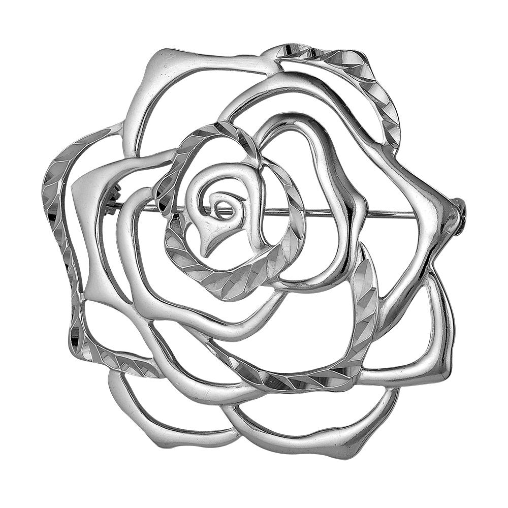 Серебряная брошь арт. 130144-5 130144-5