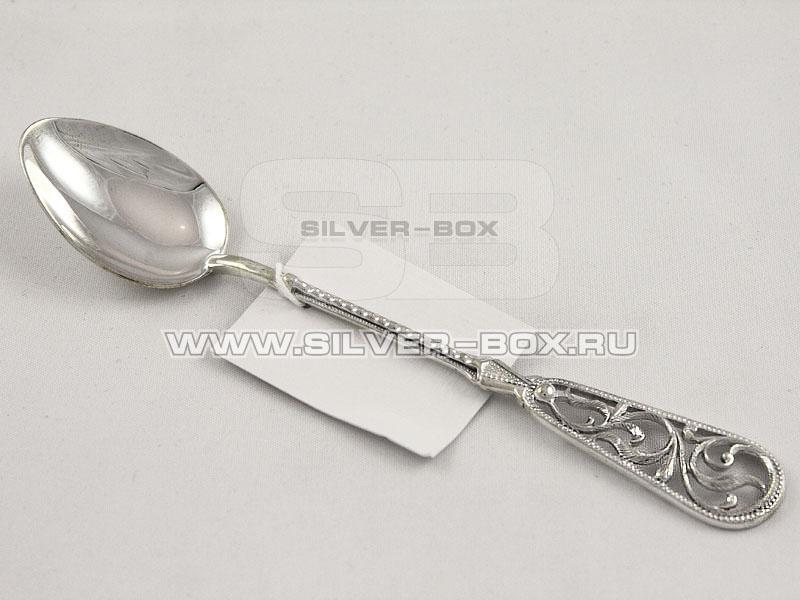 Чайная ложка из серебра арт. б83 б83