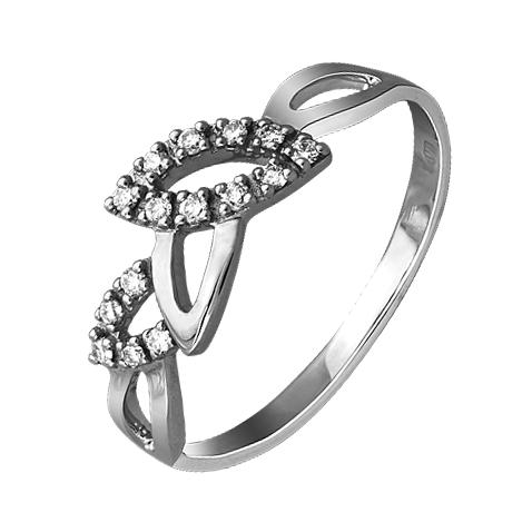 Кольцо из белого золота Бриллиант арт. 1-01824 1-01824
