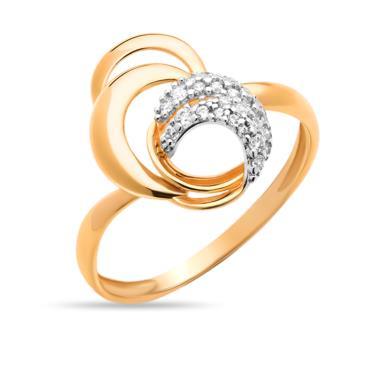 Золотое кольцо Фианит арт. 01-114576 01-114576