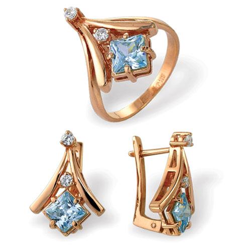 Серебряное кольцо Фианит арт. 4к-692-04 4к-692-04