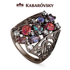 Серебряное кольцо Кристалл сваровски арт. 11-112 11-112