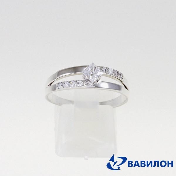Серебряное кольцо Фианит арт. 1502636 1502636