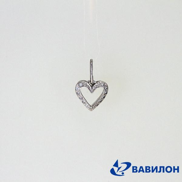 Серебряный подвес с фианитом арт. 3502188 3502188