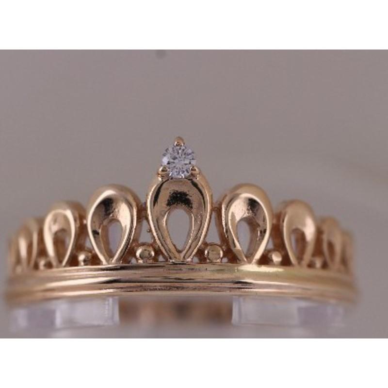 Золотое кольцо Без вставки арт. 1102607 1102607