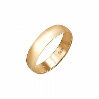 Обручальное кольцо из золота арт. 01о010381 01о010381