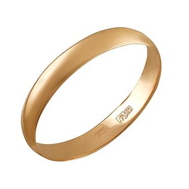 Обручальное кольцо из золота арт. 01о010376 01о010376