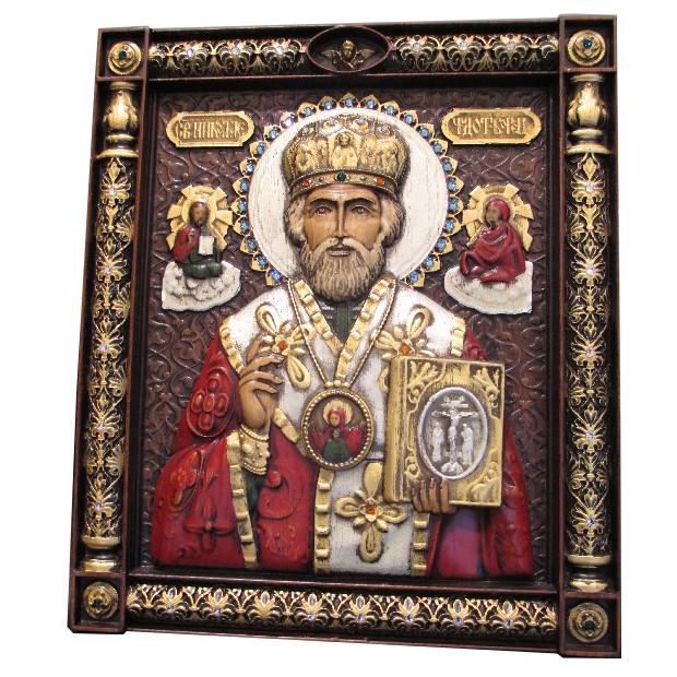 Икона Николай Чудотворец святой арт. Н.Угодник 1.32.25.12 Н.Угодник 1.32.25.12