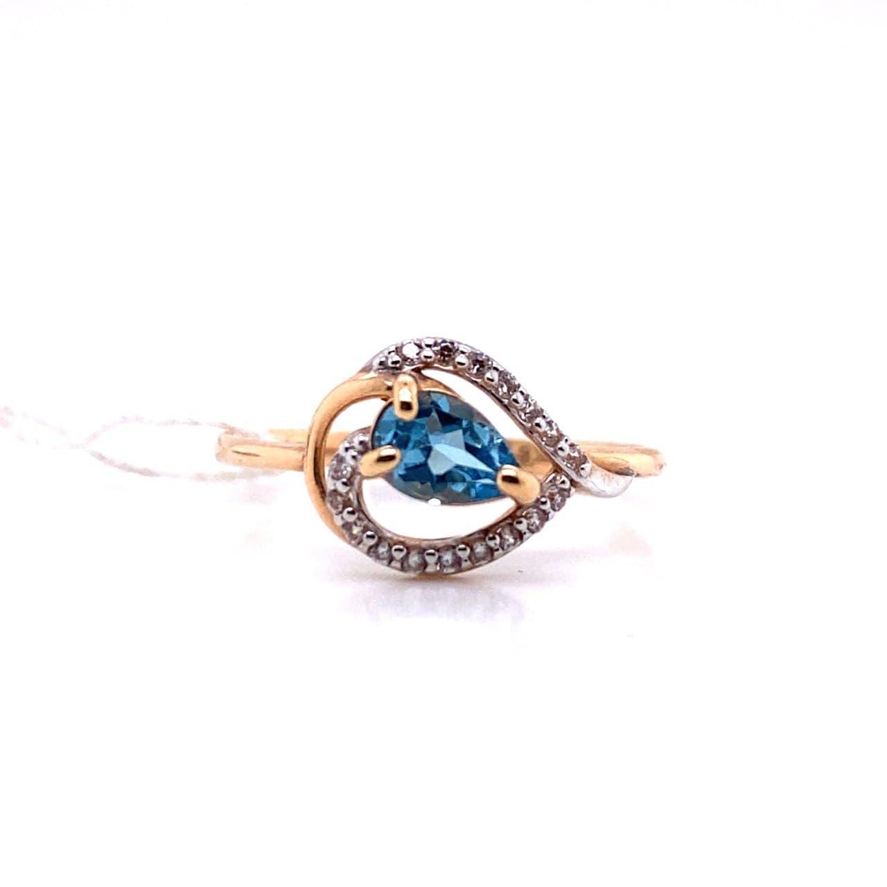 Золотое кольцо 11217тт