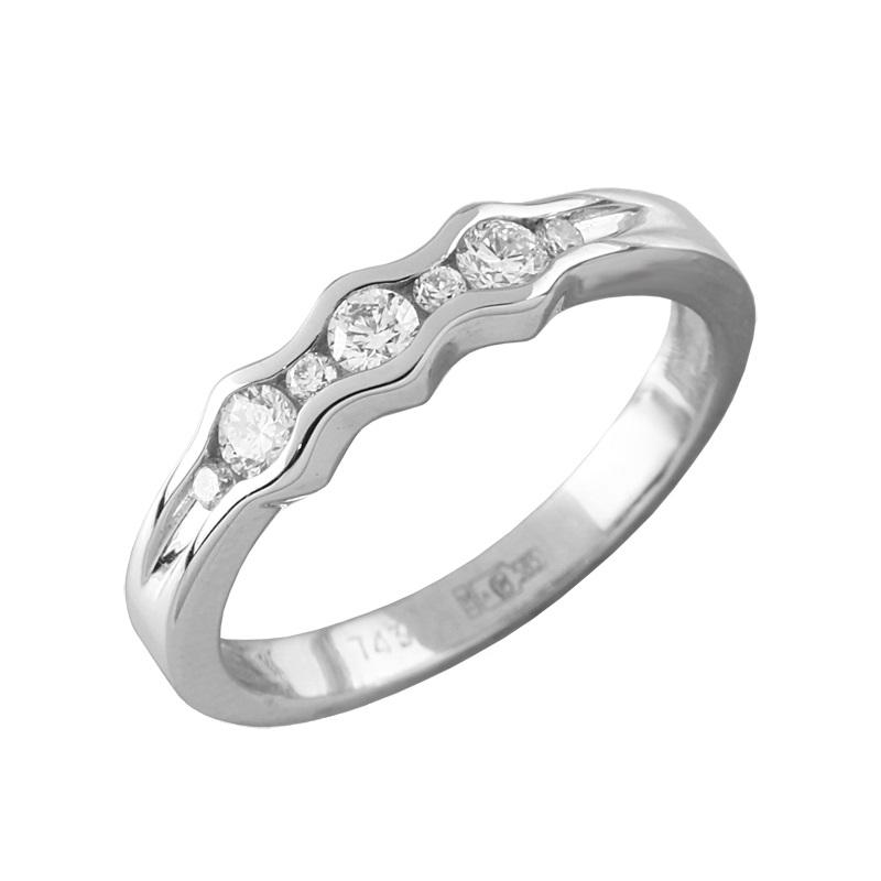 Кольцо из белого золота Бриллиант арт. 90739-1 90739-1