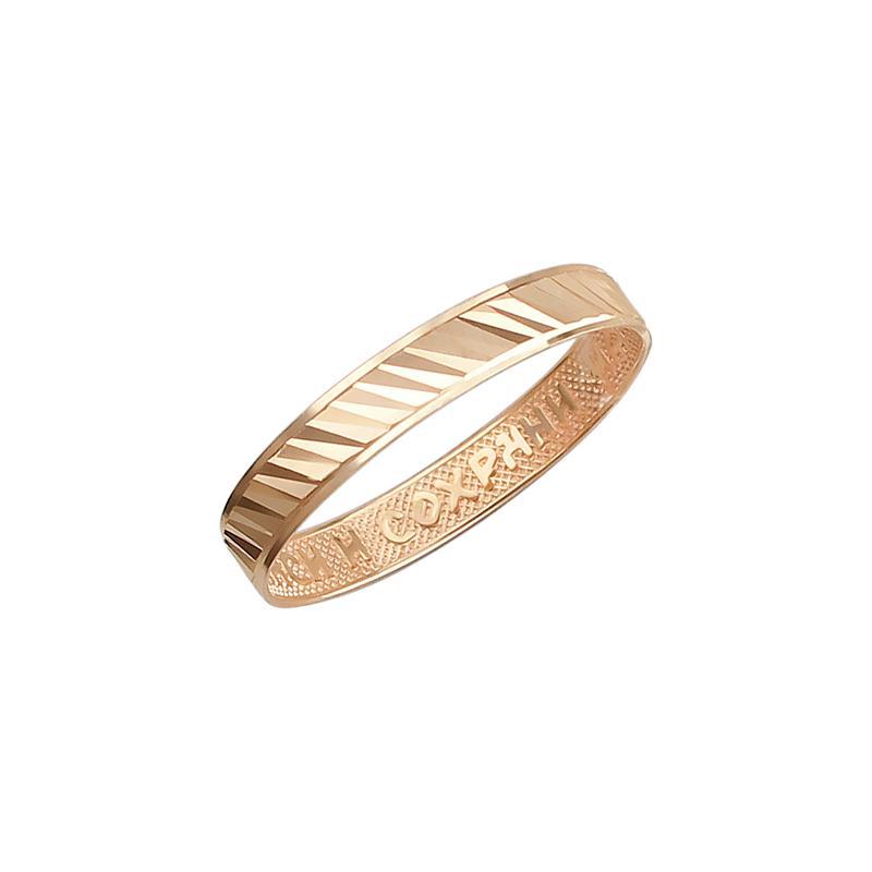 Обручальное кольцо из золота арт. 01о710390 01о710390