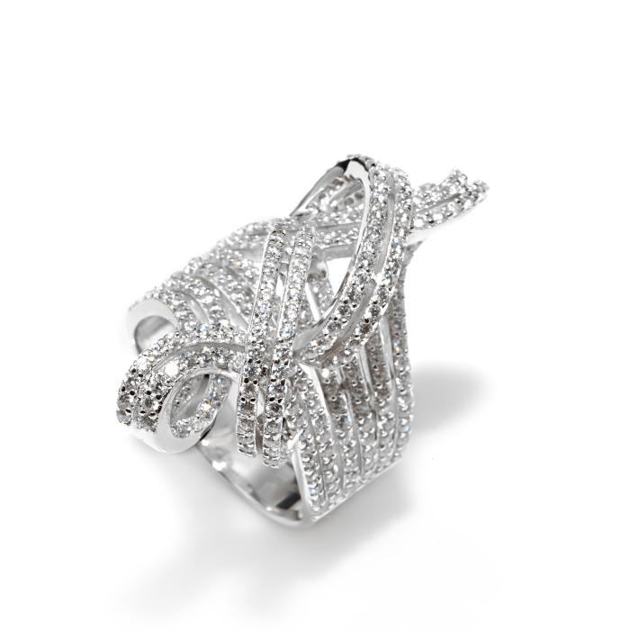 Серебряное кольцо Фианит арт. r907965 r907965