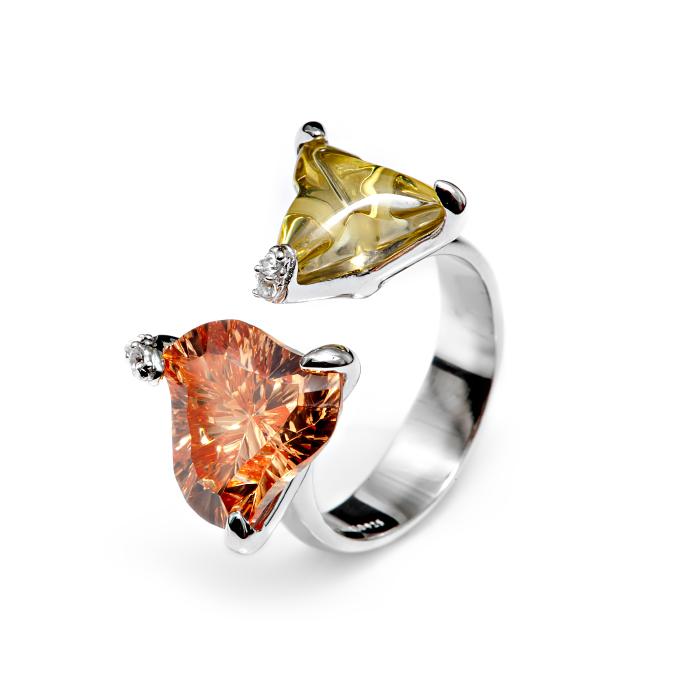 Серебряное кольцо Фианит арт. r904250 r904250