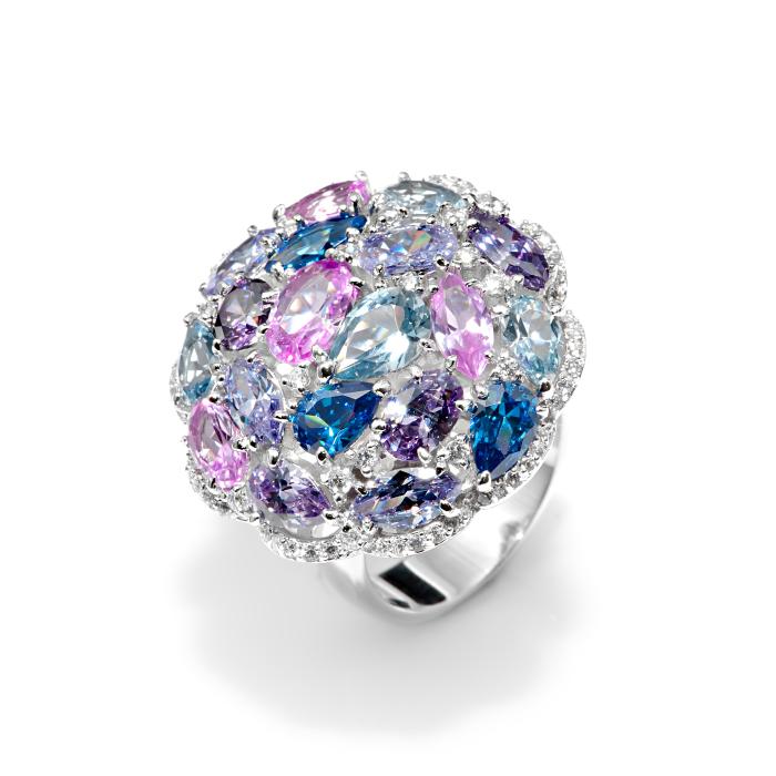 Серебряное кольцо Фианит арт. r907342 r907342